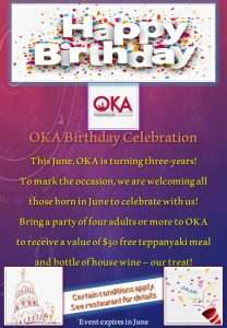 oka birthday celebration