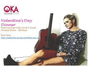 Oka Teppanyaki Valentines Day A3